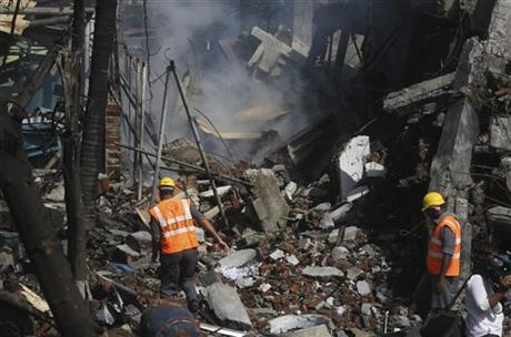 India Factory Explosion