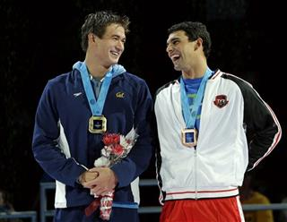 Nathan Adrian, Ricky Berens