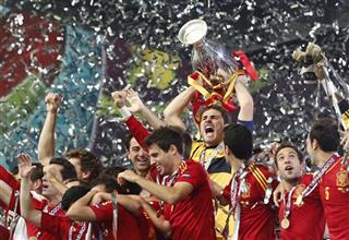 YE Soccer Euro 2012 Final Spain Italy