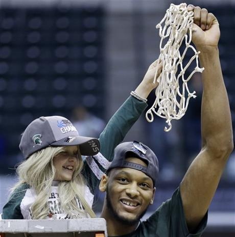 Adreian Payne,  Lacey Holsworth