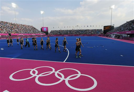 APTOPIX London Olympics Hockey Women