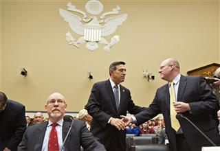 Gregory Hicks, Eric Nordstrom, Darrell Issa