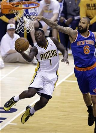 Tyson Chandler, Lance Stephenson