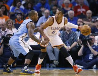 Russell Westbook, Jameer Nelson