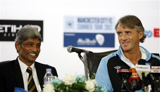 Roberto Mancini, K. Rajagopal