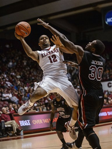 South Carolina Alabama Basketball
