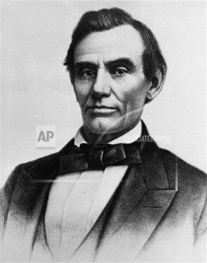 Watchf Associated Press Domestic News Election campaigns Illinois United States APHS116896 Abraham Lincoln Daguerrotype 1858