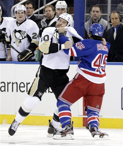Tanner Glass, Arron Asham