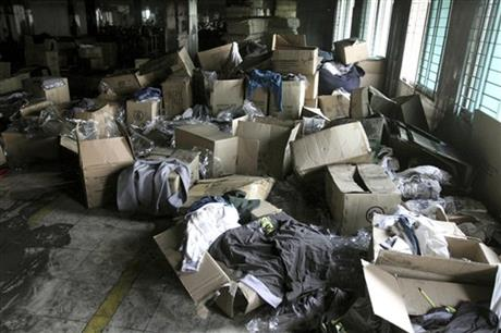 Bangladesh Factory Fire Shoppers