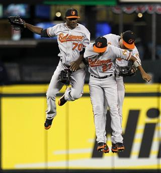 Xavier Avery, Endy Chavez, Nate McLouth