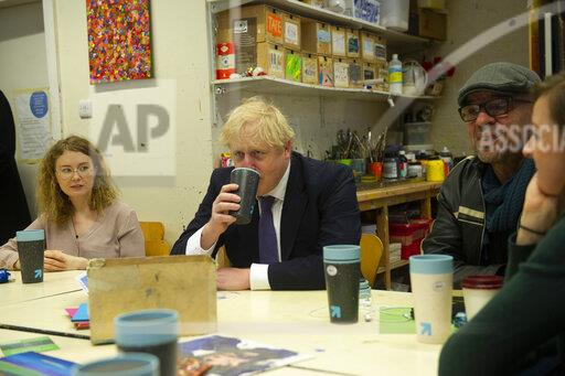 Prime minister visits rough sleeper charity