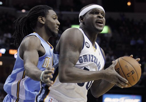 Kenneth Faried, Zach Randolph