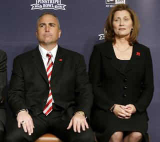 Brian Kelly, Kyle Flood, Julie Hermann, Jack Swarbrick