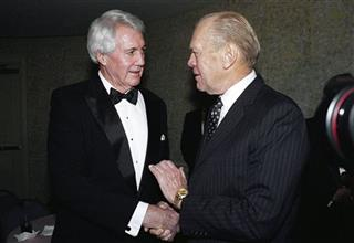 Pat Summerall, Gerald Ford, Gerry Ford