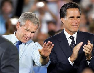 George W. Bush, Mitt Romney
