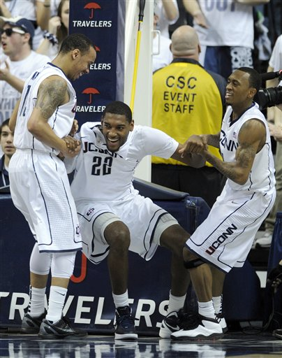 Roscoe Smith, Shabazz Napier,  Ryan Boatright