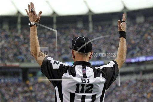 NFL Referees Lockout Football