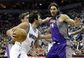 Ricky Rubio, Luis Scola