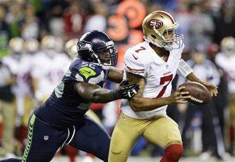 Cliff Avril, Colin Kaepernick