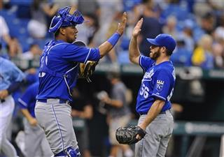 Salvador Perez, Greg Holland