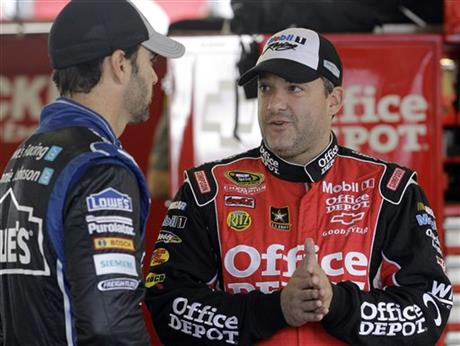 Tony Stewart, Jimmie Johnson