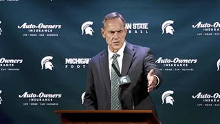Michigan St Dantonio Football