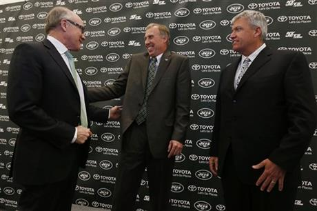 John Idzik, Woody Johnson, Rex Ryan