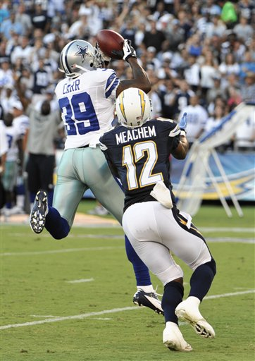  Brandon Carr,  Robert Meachem