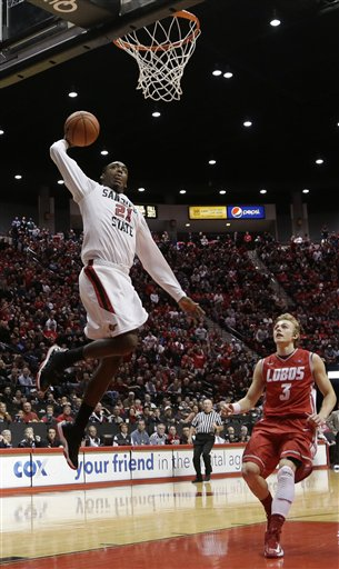 New Mexico San Diego St Basketball