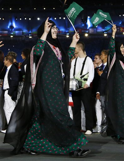 London Olympics Saudi Headscarf