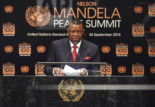 UN General Assembly Nelson Mandela Peace Summit