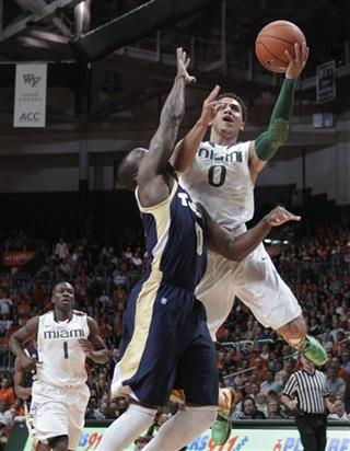 Shane Larkin, Mfon Udofia