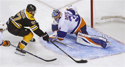 Patrice Bergeron, Rick DiPietro