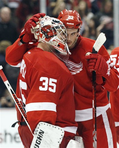 Jimmy Howard, Jonathan Ericsson