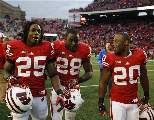 Melvin Gordon, Montee Ball, James White