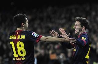 Lionel Messi, Jordi Alba