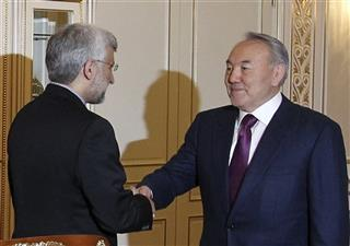 Saeed Jalili n, Nursultan Nazarbayev