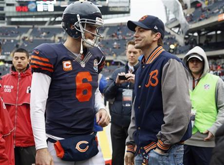Jay Cutler, Ashton Kutcher