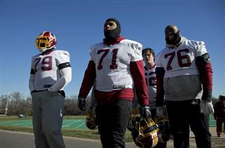 Trent Williams, Ty Nsekhe, Morgan Moses (76), Austin Reiter