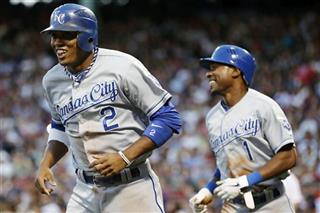 Alcides Escobar, Jarrod Dyson