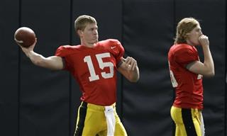 Jake Rudock, C.J. Beathard