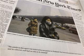 Thailand New York Times