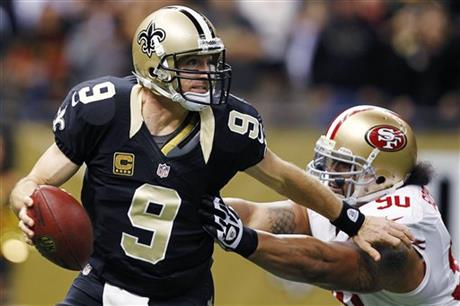 Drew Brees, Isaac Sopoaga
