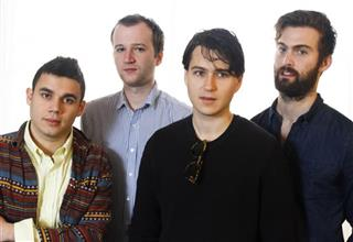 Ezra Koenig, Chris Thomson, Chris Baio, and Rostam Batmanglij