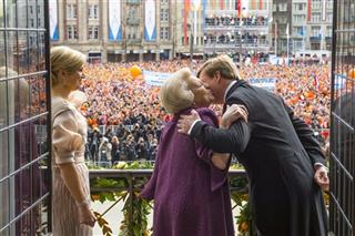 APTOPIX Netherlands New King
