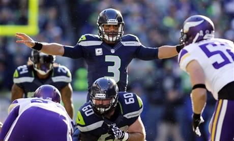 Max Unger, Russell Wilson