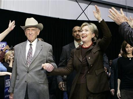 Hillary Rodham Clinton, Jack Brooks
