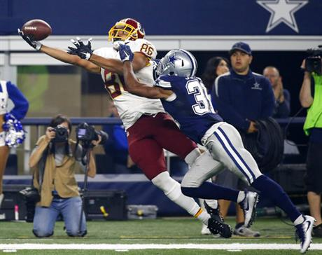 Jordan Reed, Byron Jones