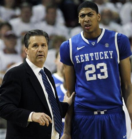 John Calipari, Anthony Davis