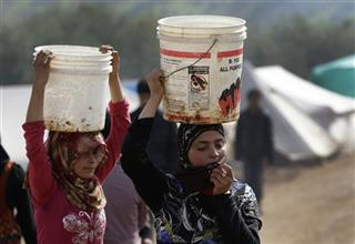 Mideast Syria Displaced